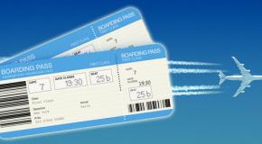 Désignation du voyageur sur billet d'avion