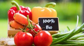 Les aliments «bio» dans les commerces